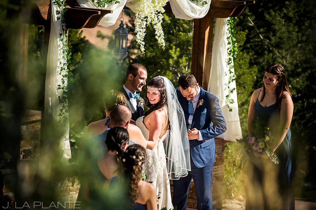 Willow Ridge Manor Wedding | Wedding ceremony | Denver wedding photographer | J La Plante Photo