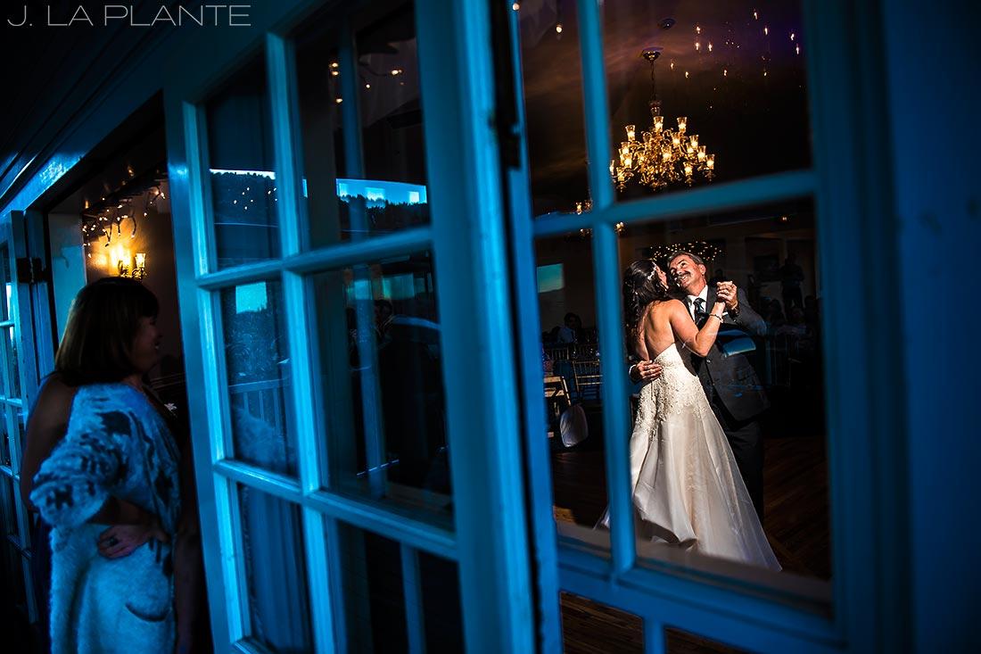 Willow Ridge Manor Wedding | Father daughter dance | Denver wedding photographer | J La Plante Photo