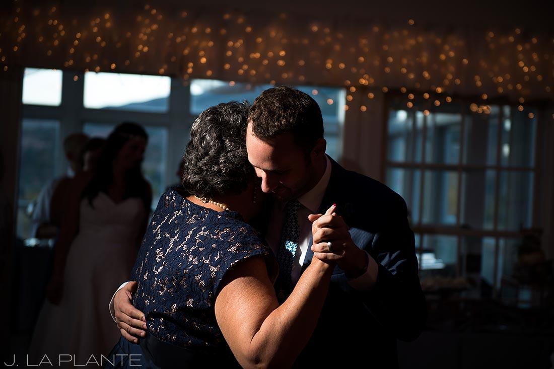 Willow Ridge Manor Wedding | Mother son dance | Denver wedding photographer | J La Plante Photo
