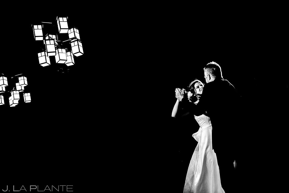 Father Daughter Dance | Chief Hosa Lodge Wedding | Denver Wedding Photographers | J. La Plante Photo