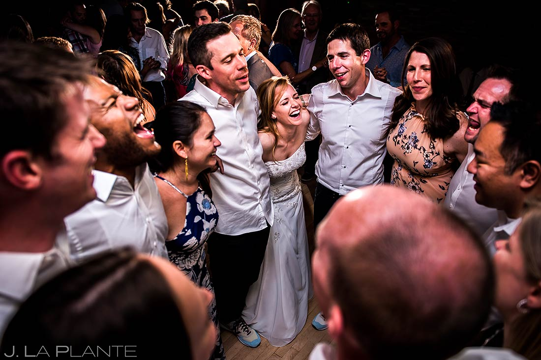 Bridal Party on Dance Floor | Mount Vernon Country Club Wedding | Denver Wedding Photographers | J. La Plante Photo