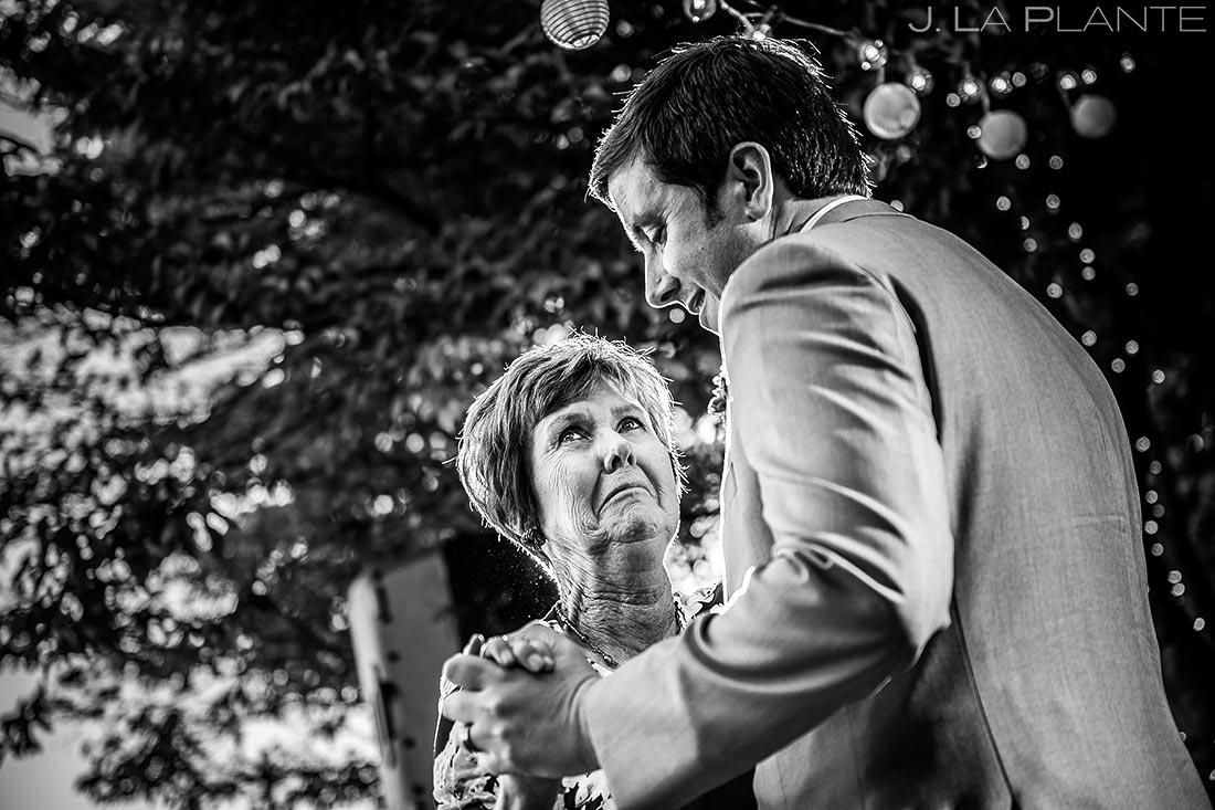 Mother Son Dance | Villa Vashon Wedding | Seattle Destination Wedding Photographers | J. La Plante Photo