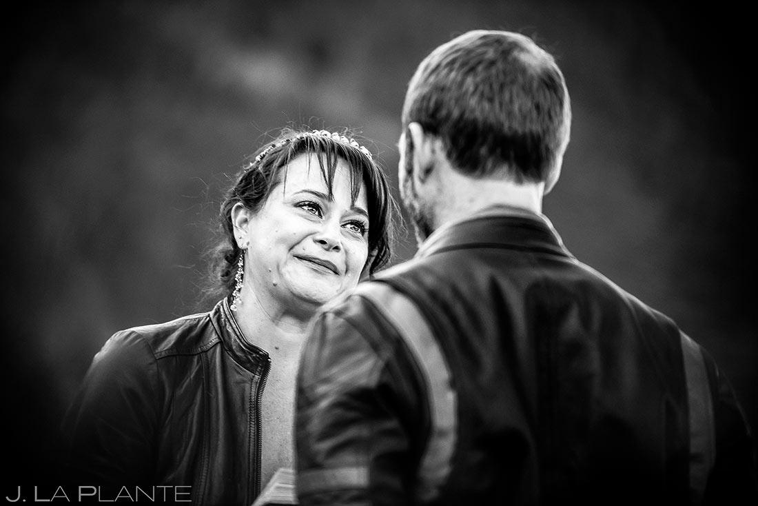 Rustic Mountain Wedding Ceremony | Rocky Mountain National Park Elopement | Estes Park Wedding Photographer | J. La Plante Photo