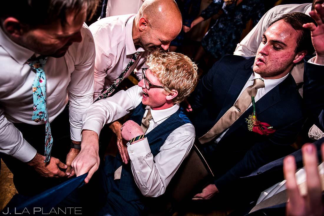 Jewish Wedding Hora Dance | Copper Mountain Wedding | Colorado Wedding Photographer | J. La Plante Photo