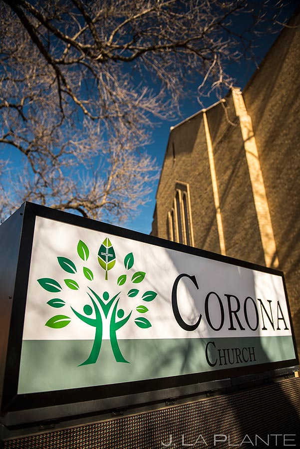 Denver Church Wedding Details | Corona Church Denver Wedding | Denver Wedding Photographers | J. La Plante Photo