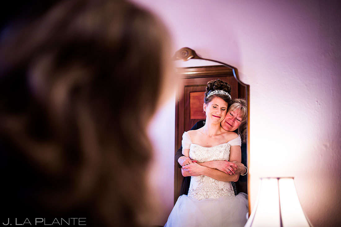 Bride Getting Ready | Corona Church Denver Wedding | Denver Wedding Photographers | J. La Plante Photo