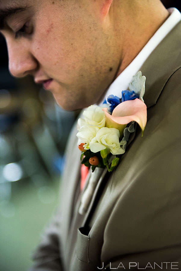 Groom Getting Ready | Corona Church Denver Wedding | Denver Wedding Photographers | J. La Plante Photo