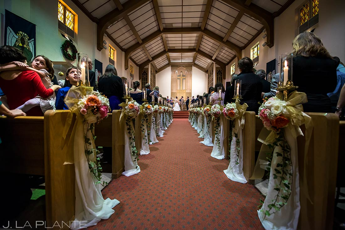 Denver Wedding Ceremony | Corona Church Denver Wedding | Denver Wedding Photographers | J. La Plante Photo