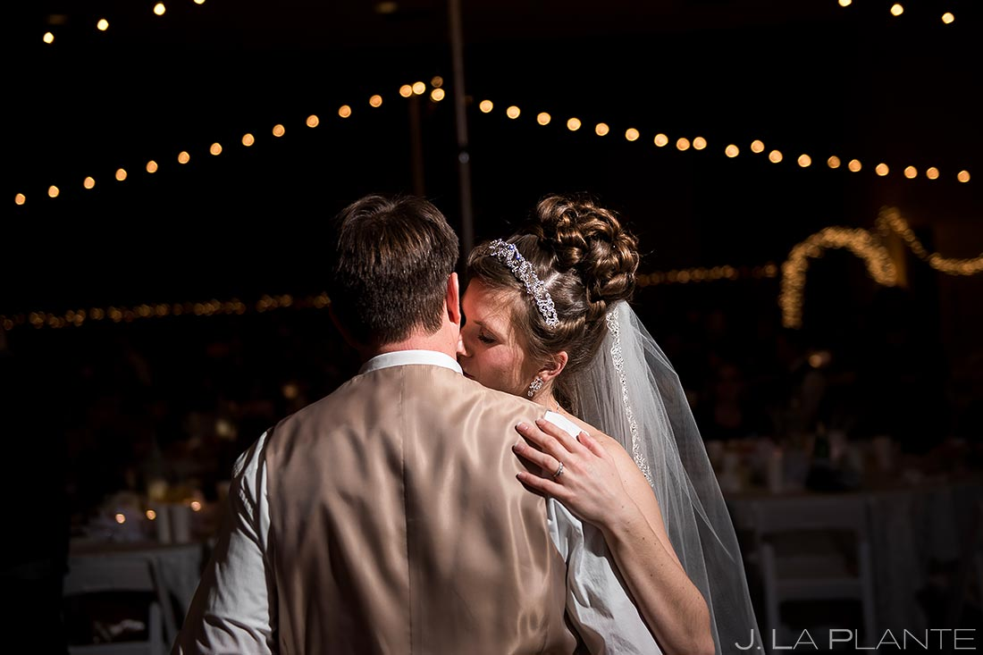 Frist Dance as Husband and Wife | Corona Church Denver Wedding | Denver Wedding Photographer | J. La Plante Photo