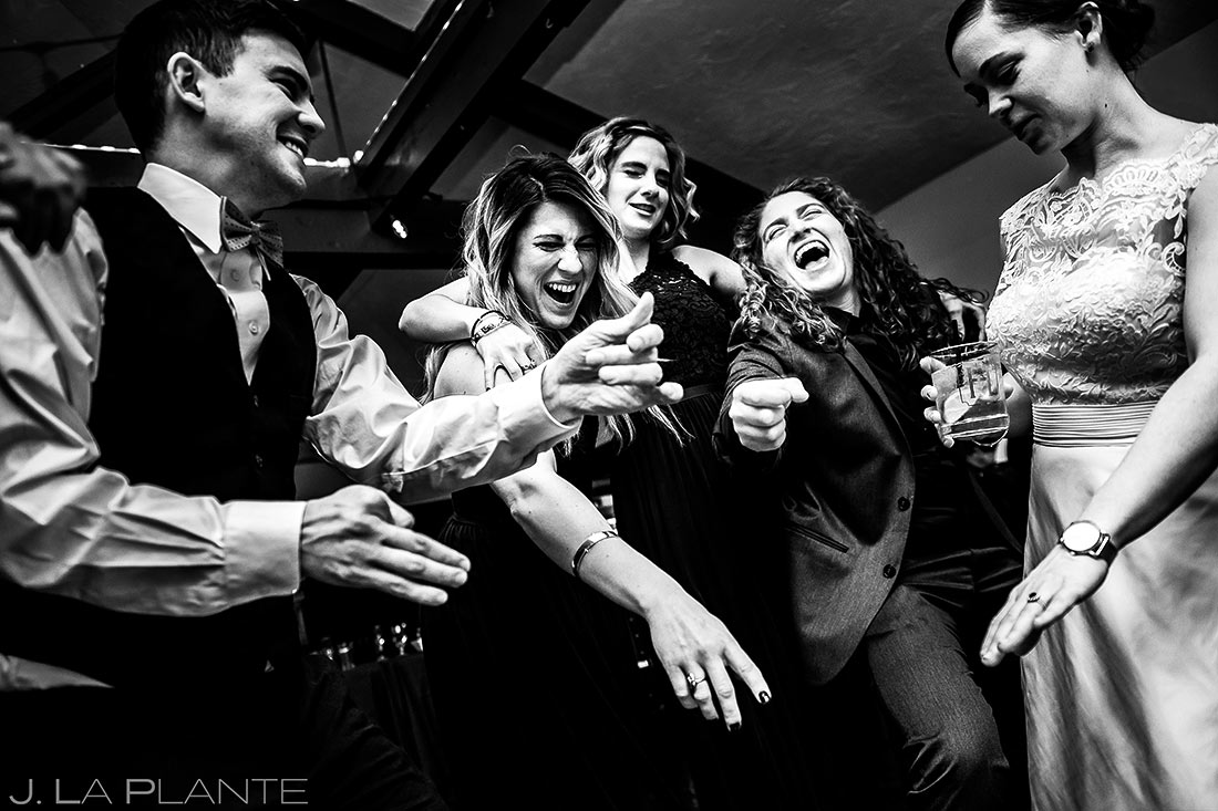 Guest dancing | Mary's Lake Lodge Wedding | Estes Park Wedding Photographer | J La Plante Photo