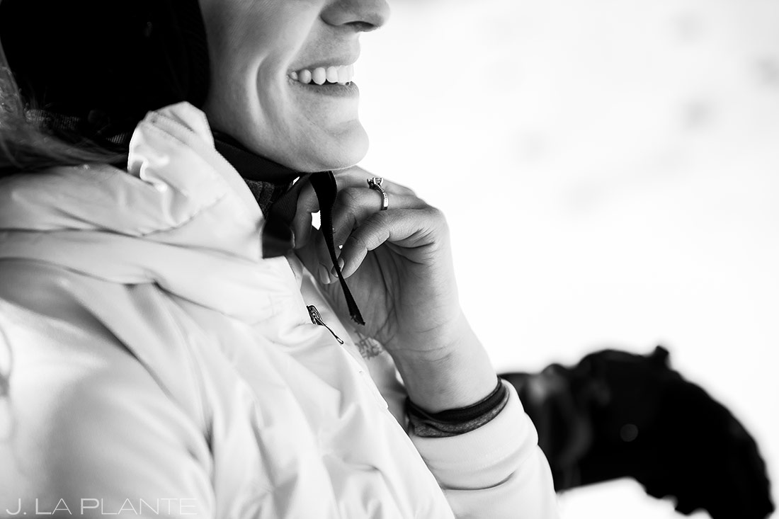 Vail Ski Engagement | Vail wedding photographer | J. La Plante Photo