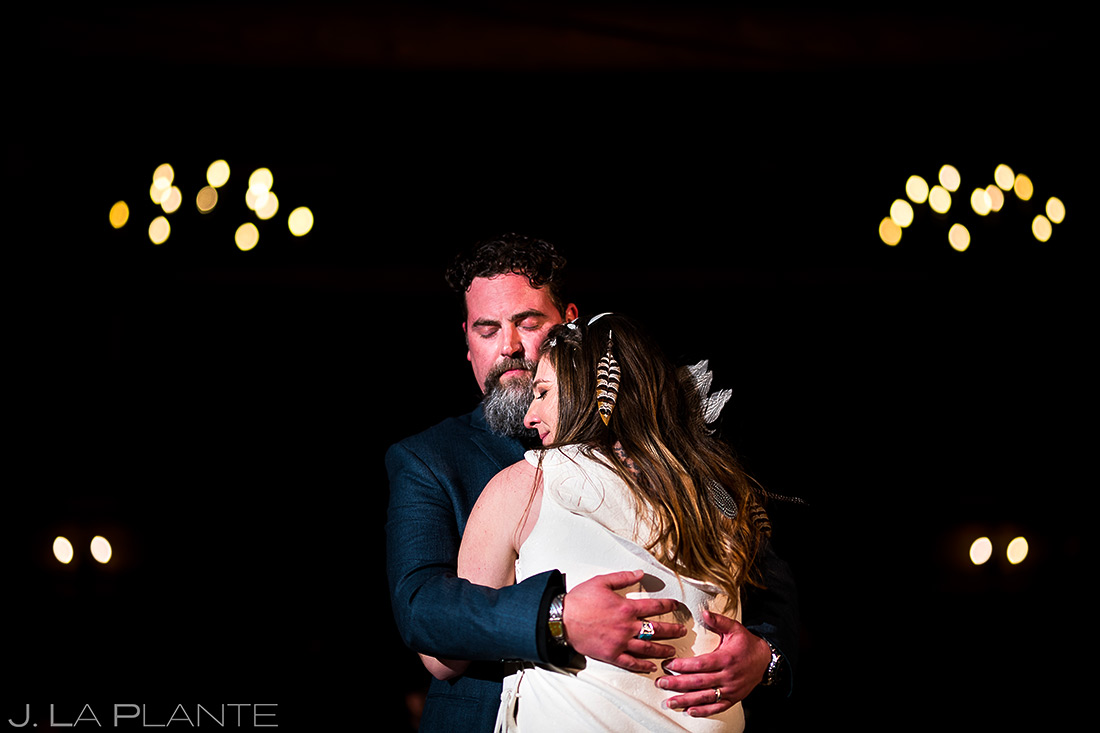 First dance   Evergreen Lake House Wedding   Evergreen Wedding Photographer   J. La Plante Photo