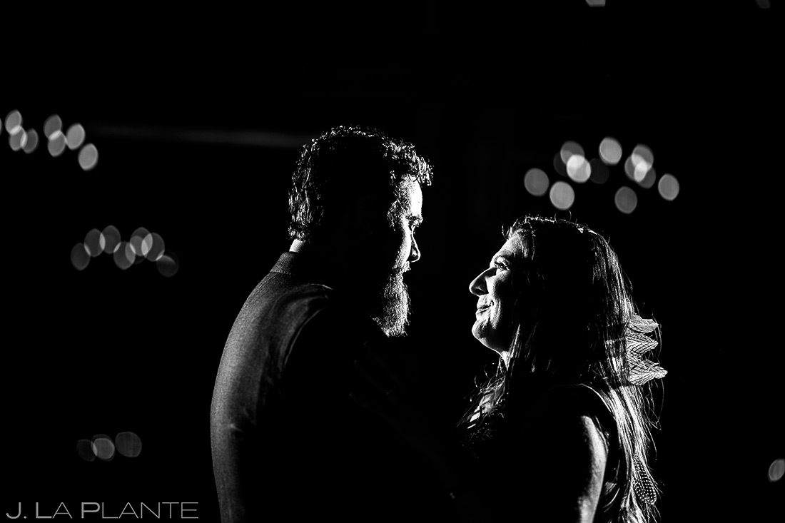 First dance | Evergreen Lake House Wedding | Evergreen Wedding Photographer | J. La Plante Photo