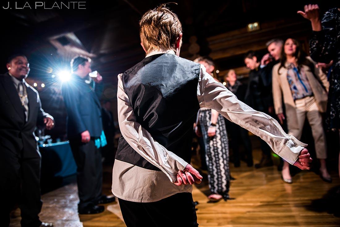 Wedding dance party | Evergreen Lake House Wedding | Evergreen Wedding Photographer | J. La Plante Photo