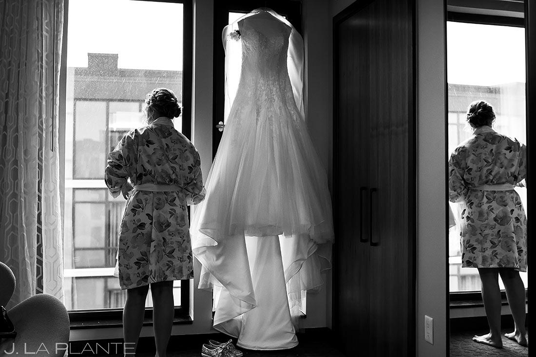 Bride Getting Ready | Wedgewood Boulder Creek Wedding | Boulder Wedding Photographer | J. La Plante Photo