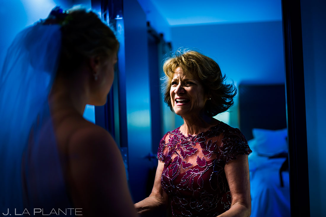 Mother of the Bride Getting Ready | Wedgewood Boulder Creek Wedding | Boulder Wedding Photographer | J. La Plante Photo