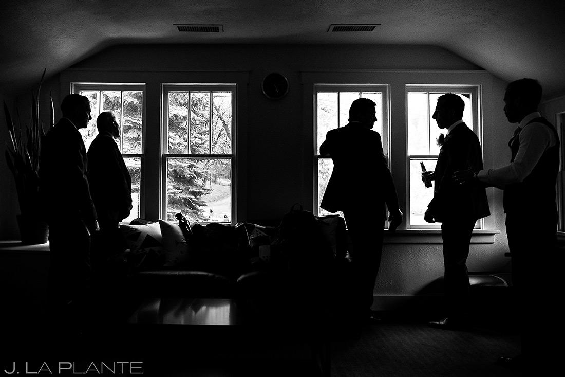 Groomsmen Getting Ready | Wedgewood Boulder Creek Wedding | Boulder Wedding Photographer | J. La Plante Photo