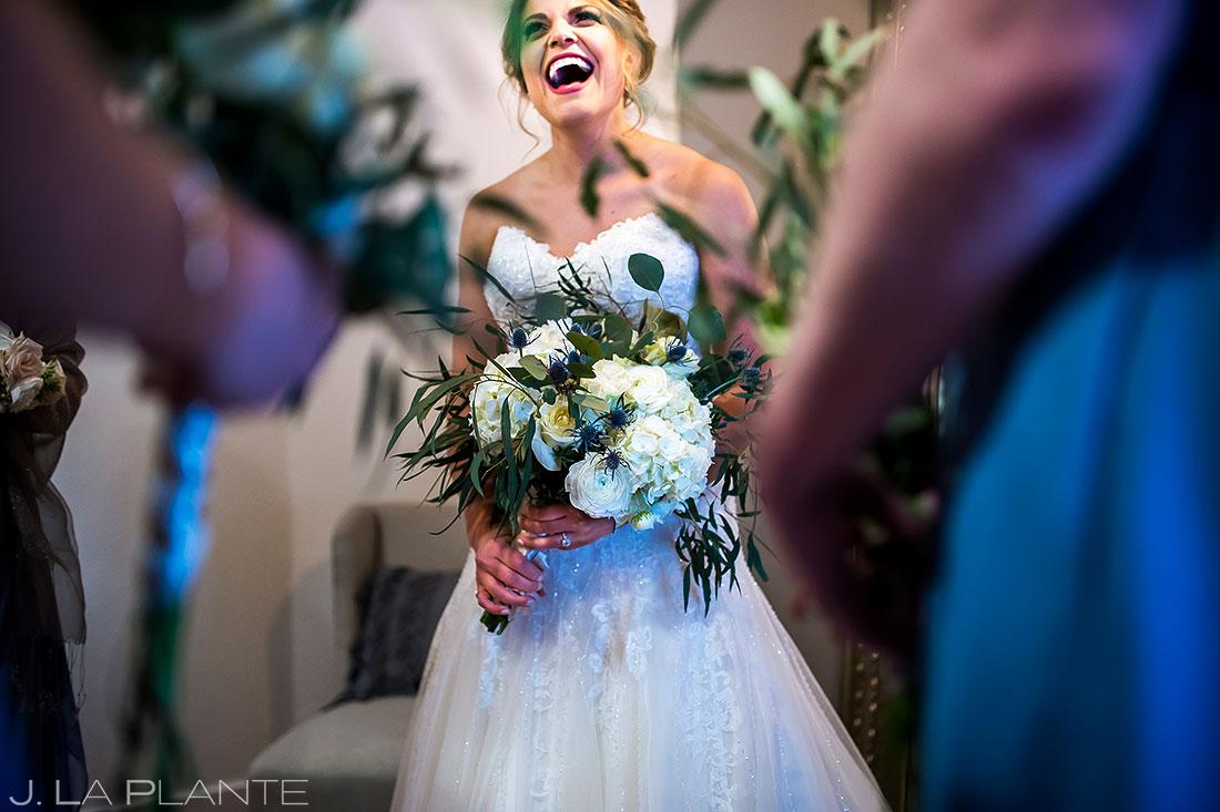 Bridesmaids Hanging Out | Wedgewood Boulder Creek Wedding | Boulder Wedding Photographer | J. La Plante Photo