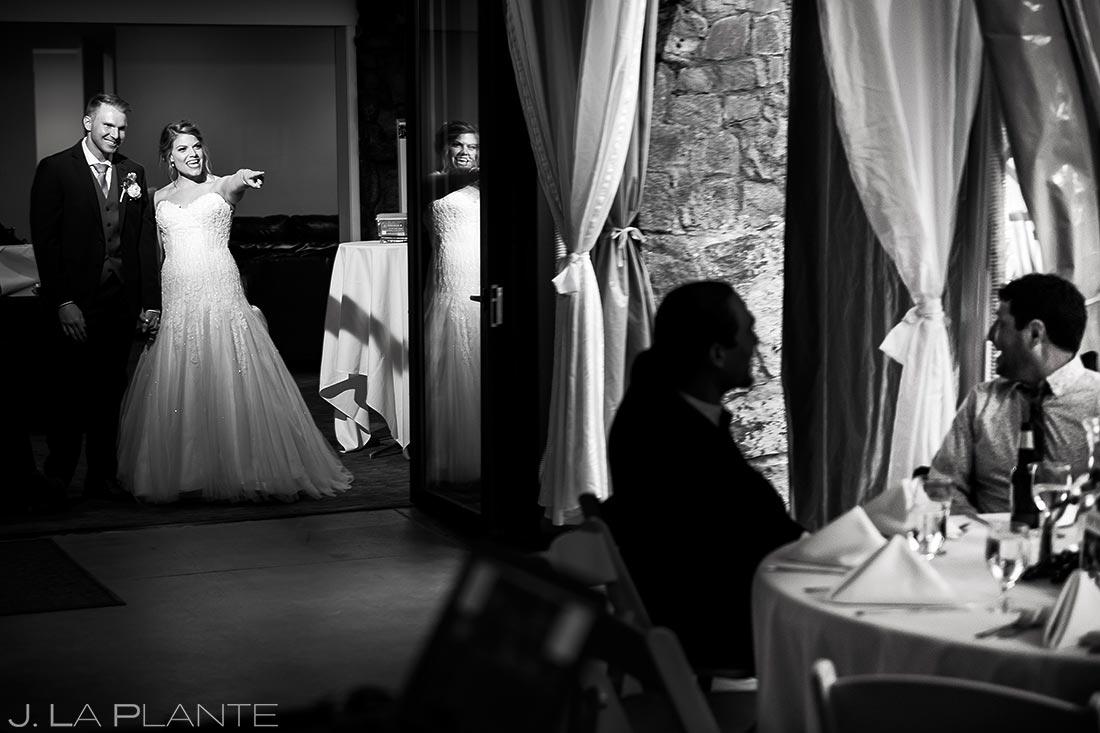 Bride and Groom Entrance | Wedgewood Boulder Creek Wedding | Boulder Wedding Photographer | J. La Plante Photo