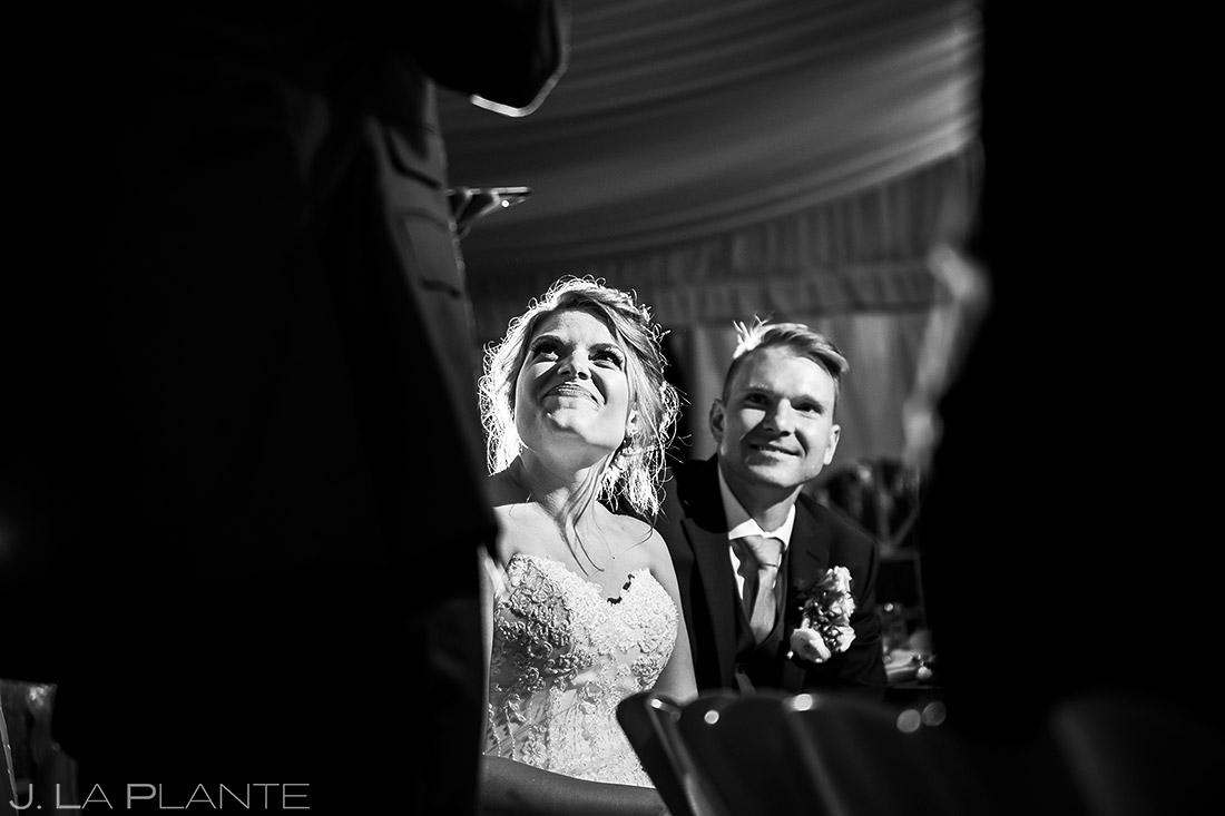 Man of Honor Speech | Wedgewood Boulder Creek Wedding | Boulder Wedding Photographer | J. La Plante Photo