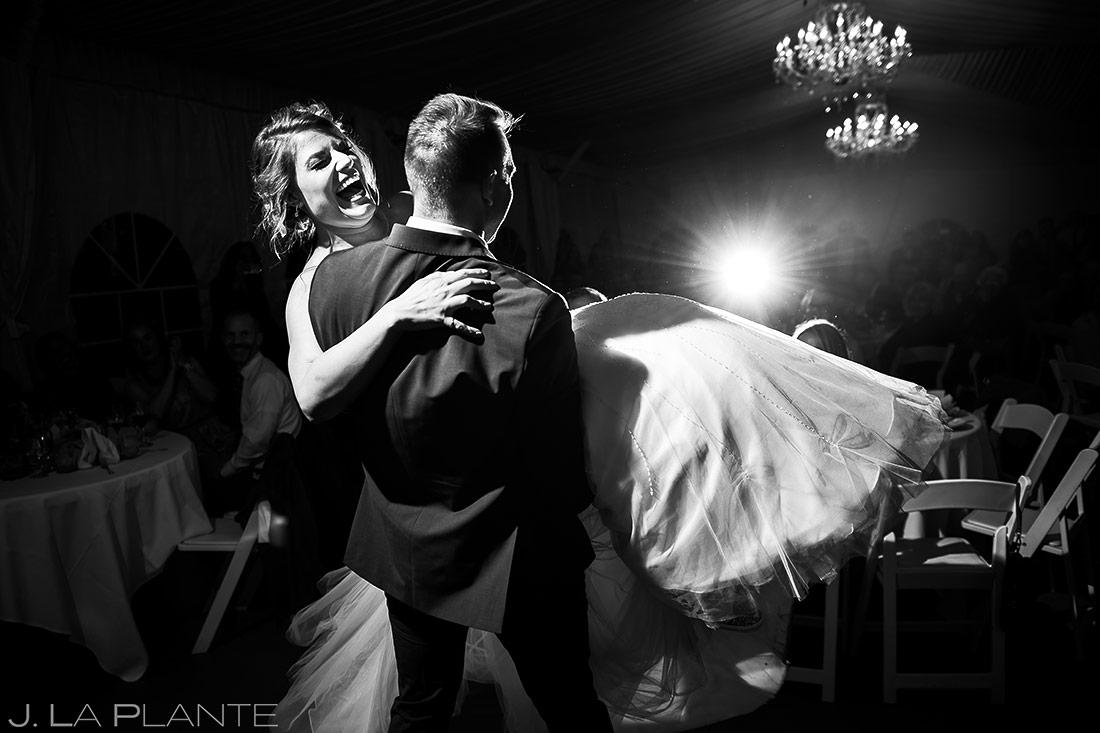 Frist Dance as Husband and Wife | Wedgewood Boulder Creek Wedding | Boulder Wedding Photographer | J. La Plante Photo