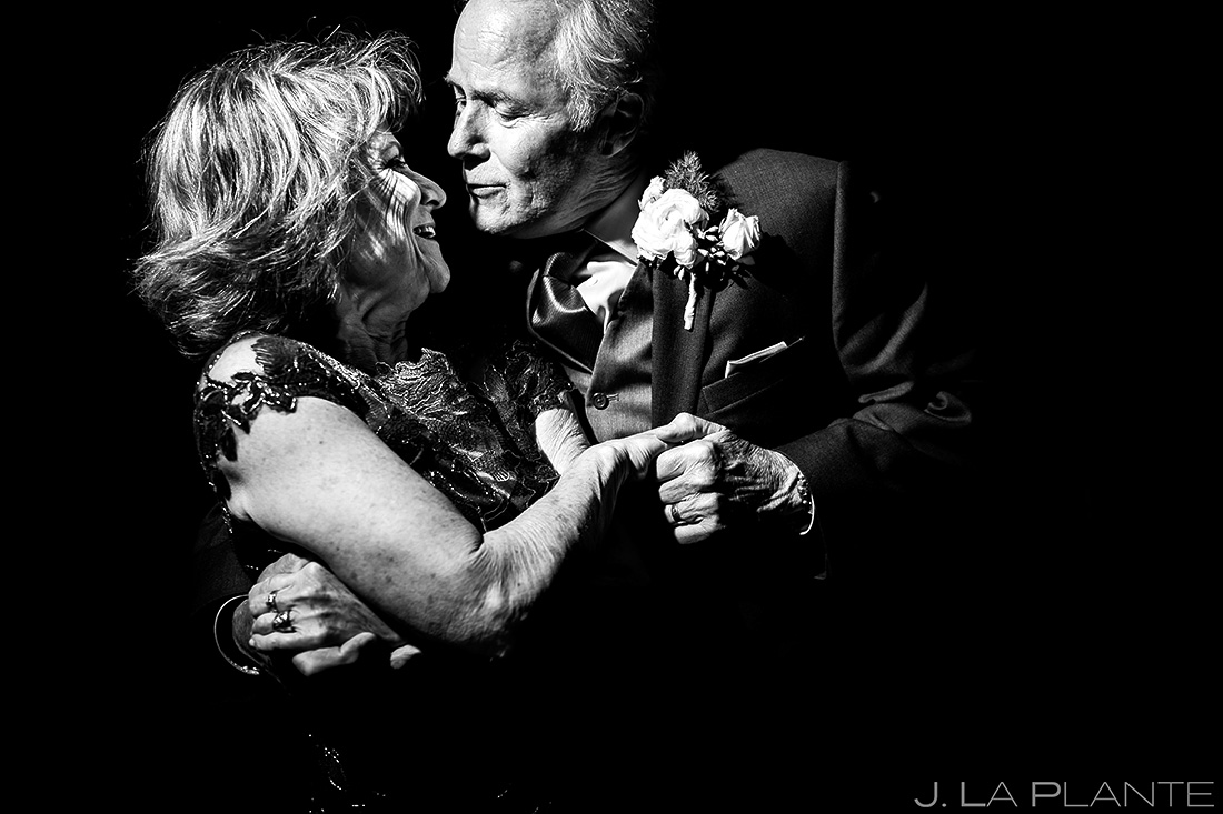 Bride's Parents Dancing | Wedgewood Boulder Creek Wedding | Boulder Wedding Photographer | J. La Plante Photo