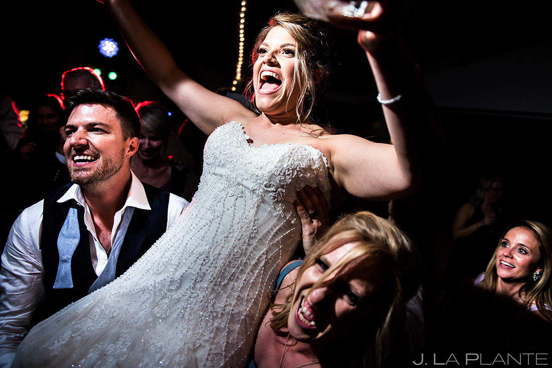 Wedding Reception Dance Party | Wedgewood Boulder Creek Wedding | Boulder Wedding Photographer | J. La Plante Photo