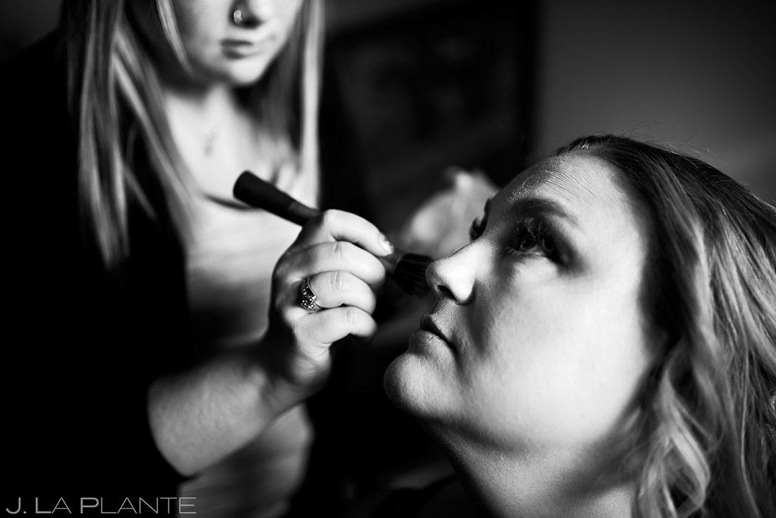 Bride Getting Ready | Beaver Creek Lodge Wedding | Beaver Creek Wedding Photographer | J. La Plante Photo