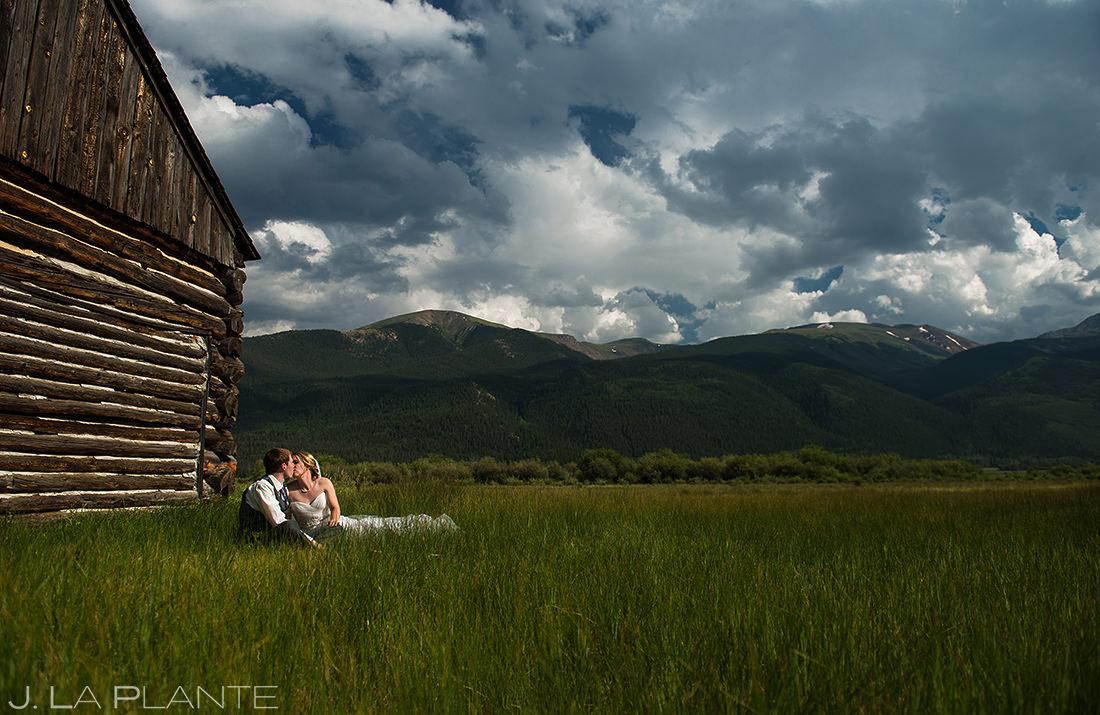 Rustic Colorado Barn Wedding Photo   Twin Lakes Colorado Wedding   Colorado Wedding Photographer   J. La Plante Photo