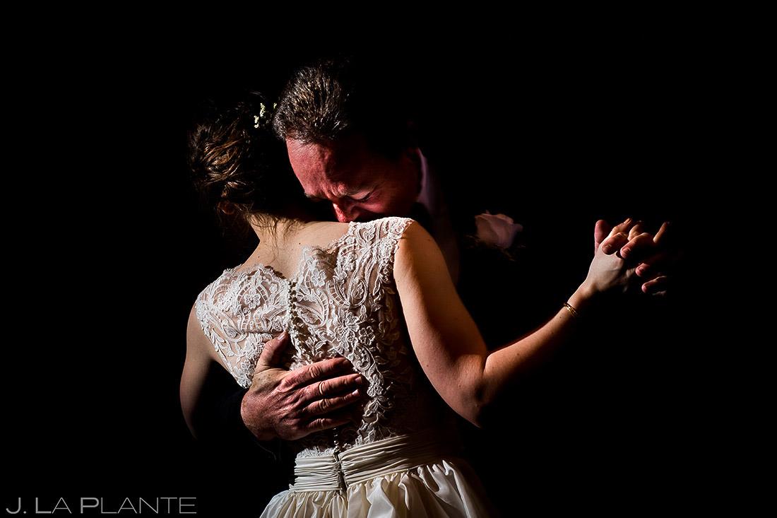 Father Daughter Dance   Mary's Lake Lodge Wedding   Estes Park Wedding Photographer   J. La Plante Photo