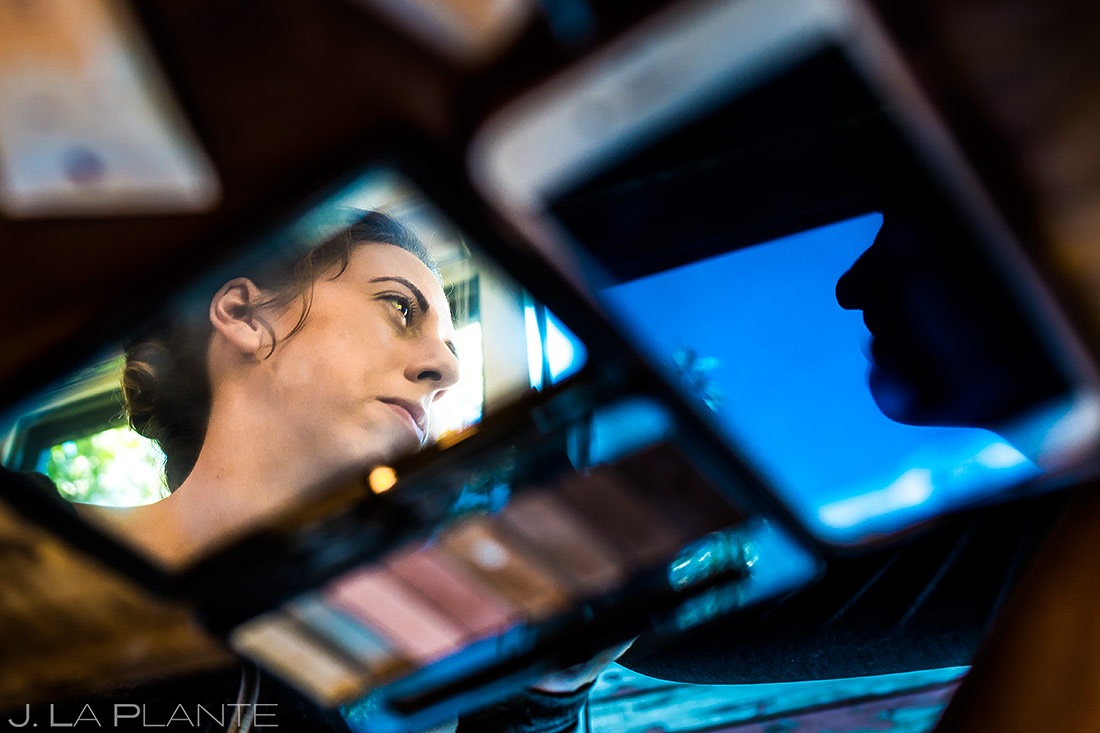 Bride Getting Ready | Steamboat Springs Wedding | Colorado Wedding Photographer | J. La Plante Photo