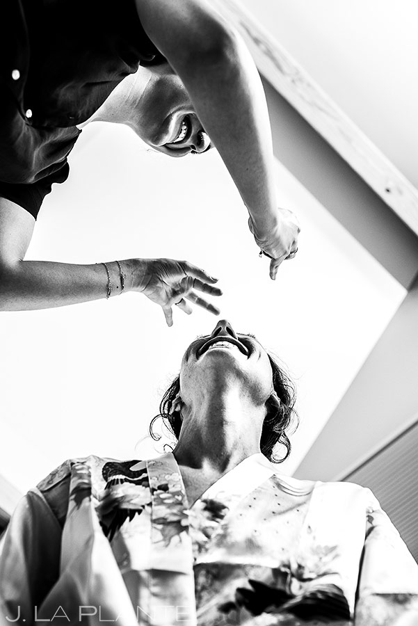 Bride Getting Ready | Chautauqua Park Wedding | Boulder Wedding Photographer | J. La Plante Photo