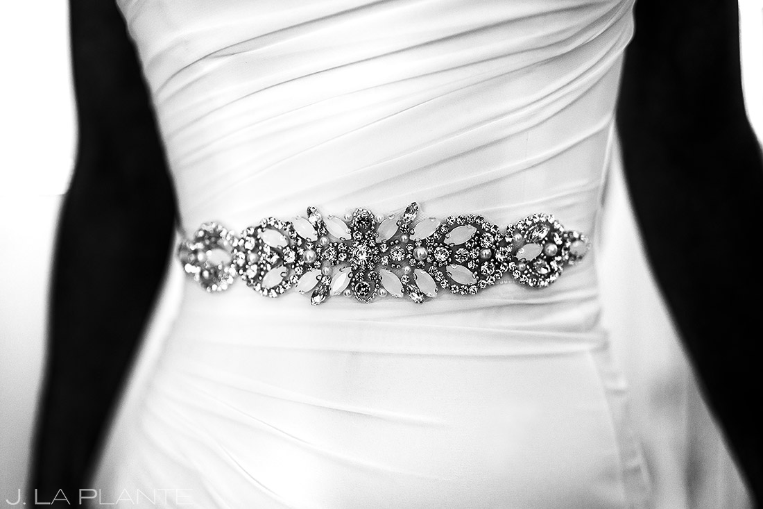 Wedding Dress Details | Chautauqua Park Wedding | Boulder Wedding Photographer | J. La Plante Photo