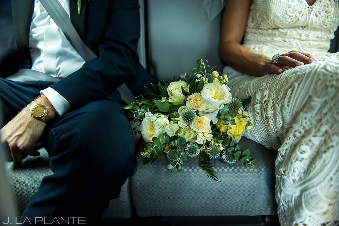 Wedding Details Bouquet | Camp Hale Wedding | Vail Wedding Photographer | J. La Plante Photo