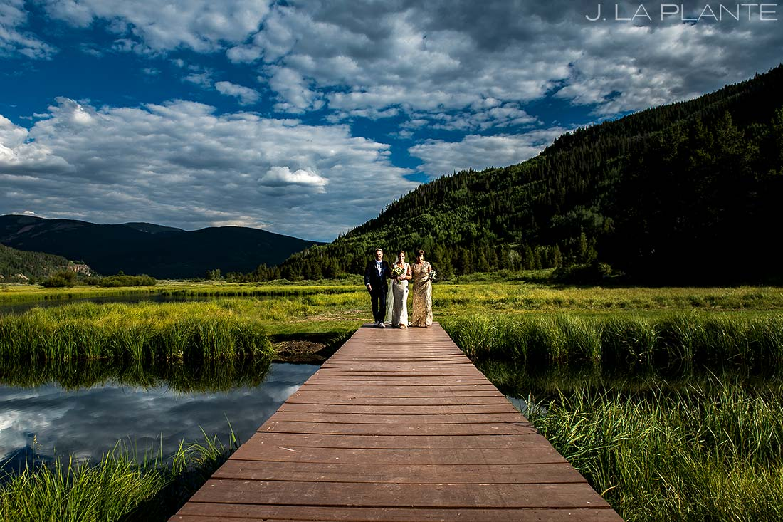 Rustic Mountain Wedding Ceremony | Camp Hale Wedding | Vail Wedding Photographer | J. La Plante Photo