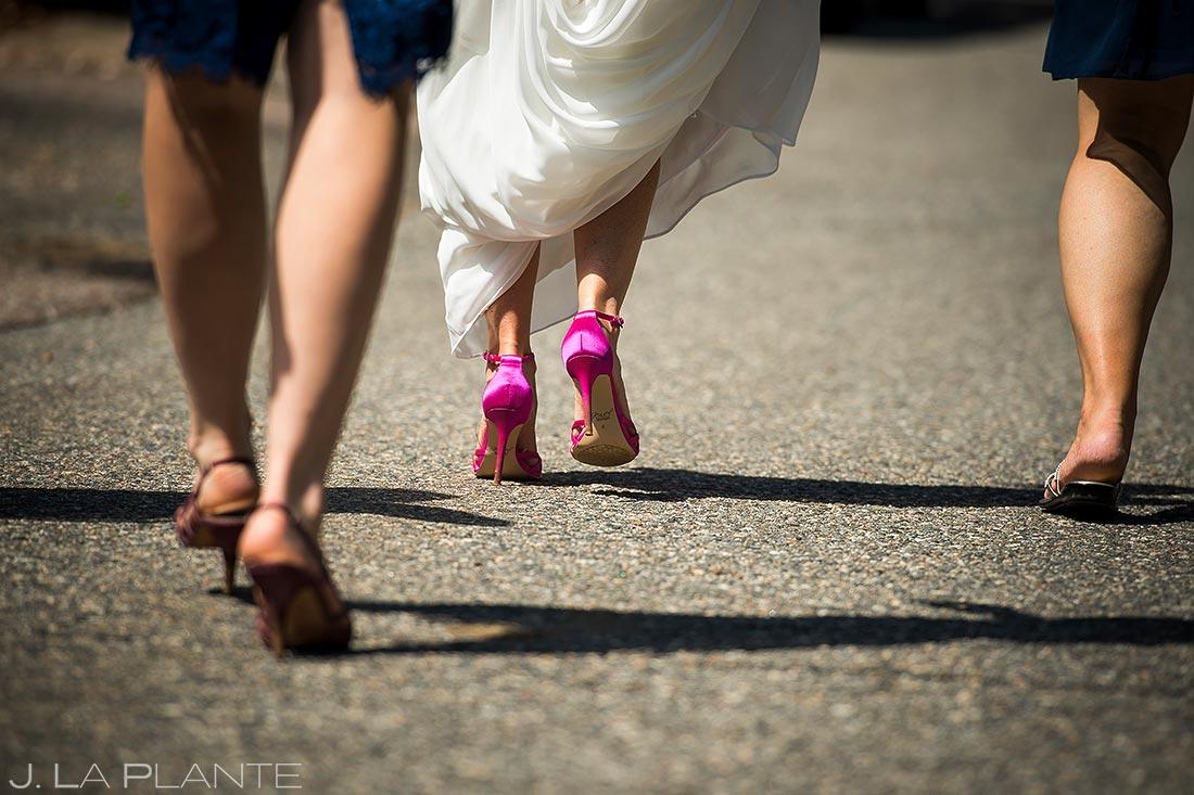 Boulder Wedding Shoes Details | Chautauqua Park Wedding | Boulder Wedding Photographer | J. La Plante Photo