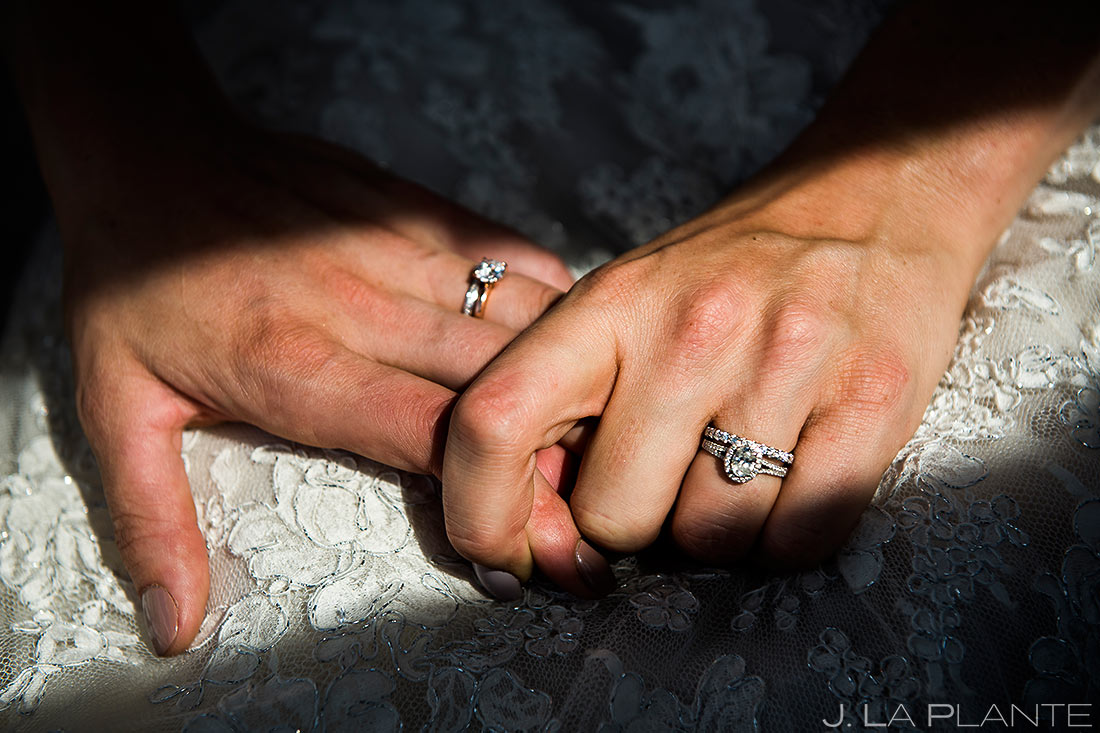 Bride and Bride Wedding Rings | Steamboat Springs Wedding | Colorado Wedding Photographer | J. La Plante Photo