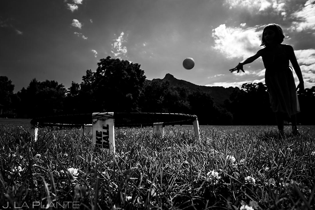 Boulder Wedding Lawn Games | Chautauqua Park Wedding | Boulder Wedding Photographer | J. La Plante Photo