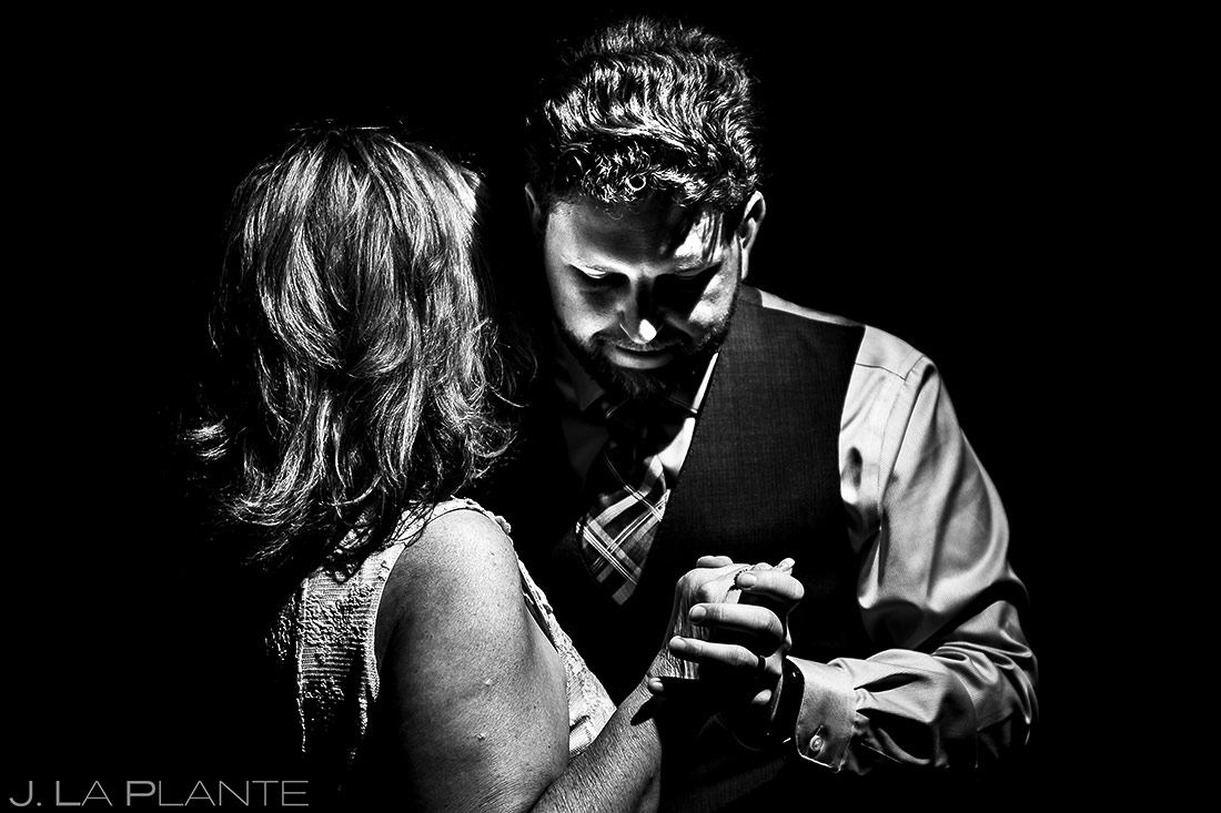Mother Son Dance | Lodge at Cathedral Pines Wedding | Colorado Springs Wedding Photographer | J. La Plante Photo
