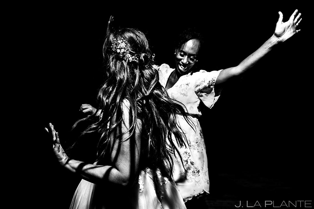 Wedding Reception Dance Party | Lodge at Cathedral Pines Wedding | Colorado Springs Wedding Photographer | J. La Plante Photo