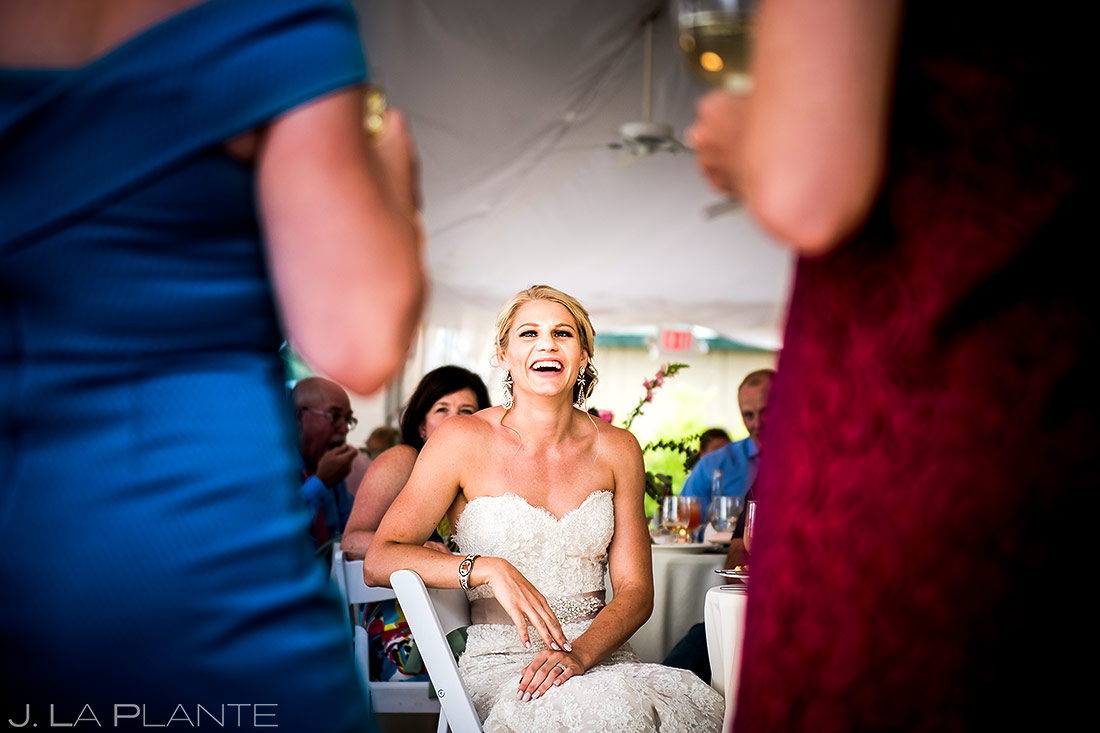 Wedding Speeches | Steamboat Springs Wedding | Colorado Wedding Photographer | J. La Plante Photo