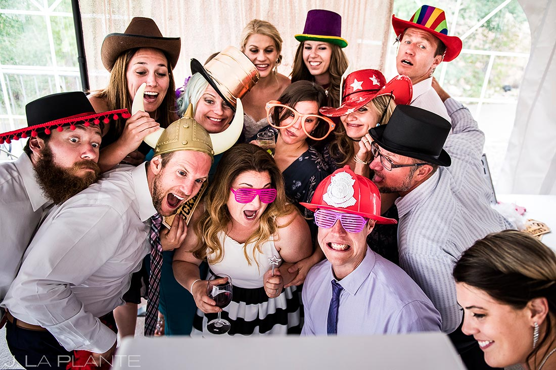 Wedding Photo Booth | Steamboat Springs Wedding | Colorado Wedding Photographer | J. La Plante Photo