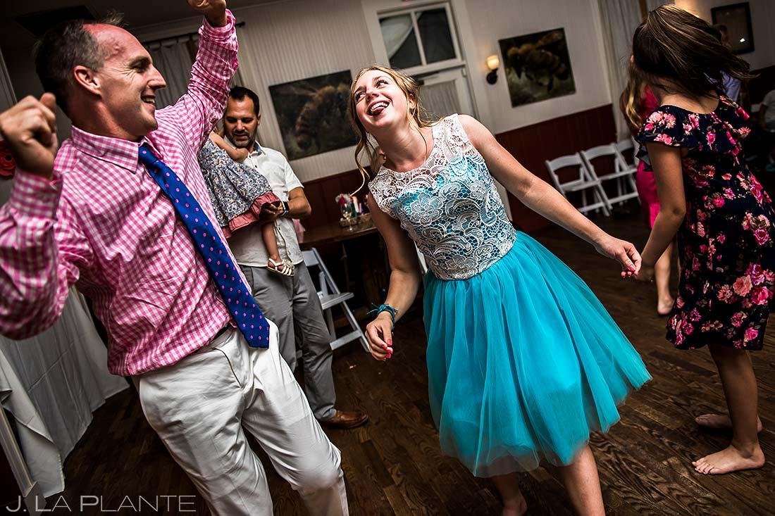 Wedding Reception Dance Party | Chautauqua Park Wedding | Boulder Wedding Photographer | J. La Plante Photo