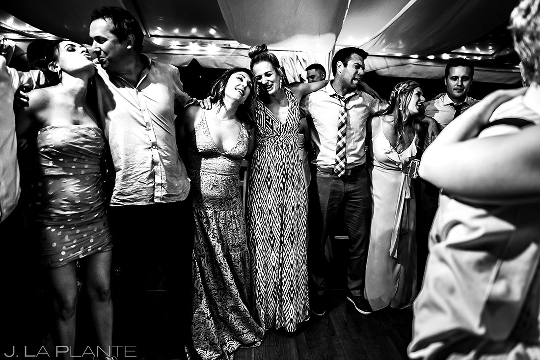Wedding Guests Dancing | Vail Wedding Photographer | J. La Plante Photo