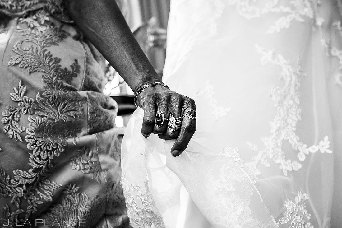 Bride Getting Ready | Denver Botanic Gardens Wedding | Denver Wedding Photographer | J. La Plante Photo
