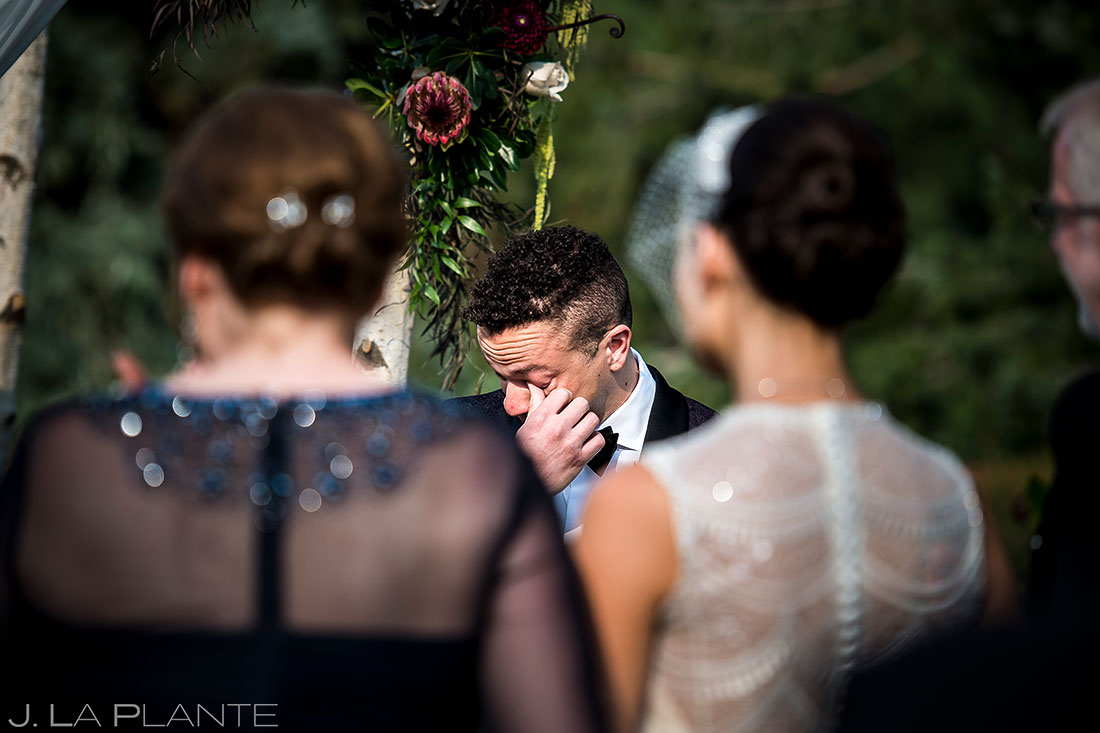 Outdoor Wedding Ceremony | Manor House Wedding | Denver Wedding Photographer | J. La Plante Photo