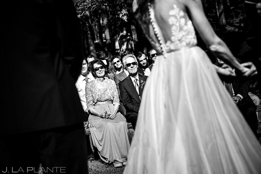 Outdoor Mountain Wedding Ceremony   Dao House Wedding   Estes Park Wedding Photographer   J. La Plante Photo