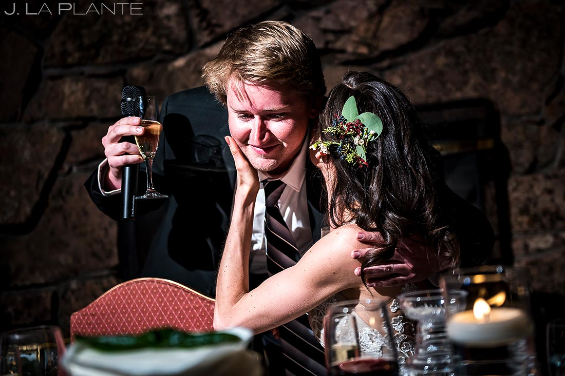 Best Man Speech   Dao House Wedding   Estes Park Wedding Photographer   J. La Plante Photo