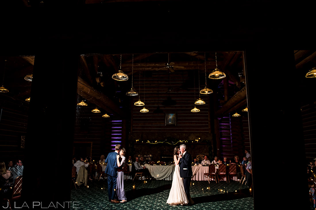 Mother Son Dance Dance | Father Daughter Dance | Dao House Wedding | Estes Park Wedding Photographer | J. La Plante Photo