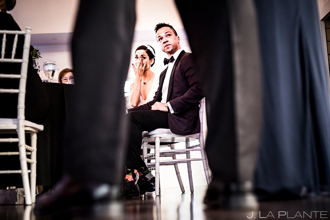 Wedding Reception Toasts | Manor House Wedding | Denver Wedding Photographer | J. La Plante Photo